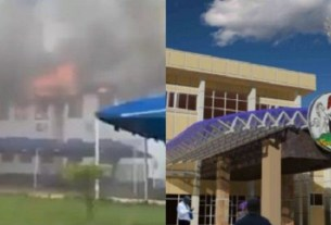 HAPPENING NOW: Gunshot rocks Imo State House of Assembly, SEE WHY