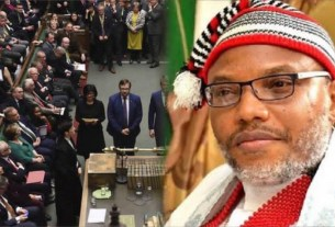 Nnamdi Kanu: shocking thing that happened as British govt officials tried to meet IPOB leader in DSS custody