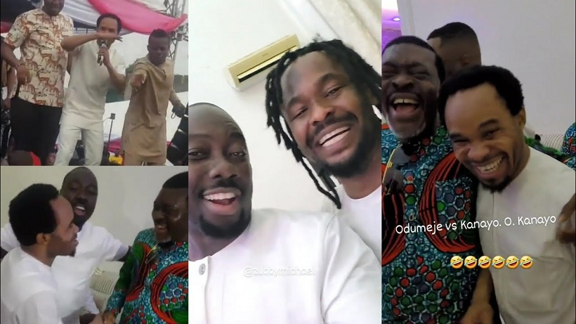 Reaction As Odumeje And His Group Arrives The Funeral Of Obi Cubana's Mother