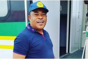 Shocking: Actor Victor Osuagwu said the late mother has been appearing to him after Obi Cubana's mother funeral