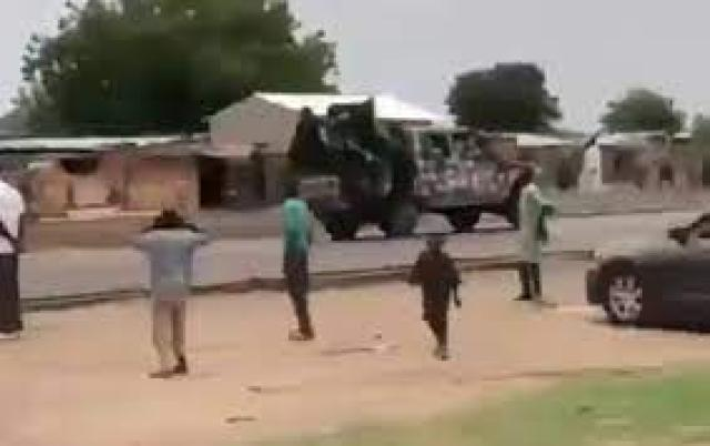 Soldiers rushing to scene of Boko Haram attack in Borno state, involved in  an accident (VIDEO)