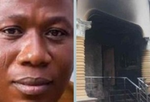 BREAKING: See how gunmen abducted Sunday Igboho's wife, others