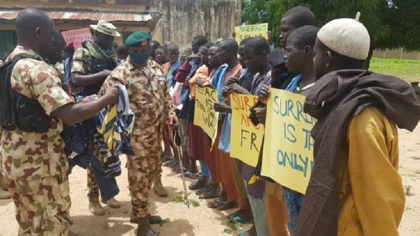 PHOTOS: Boko Haram top commanders surrender, ask Nigerians for forgiveness