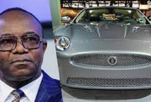 Revealed: How Former Nigerian minister, Ibe Kachikwu Allegedly smuggled exotic car stolen from UK to California