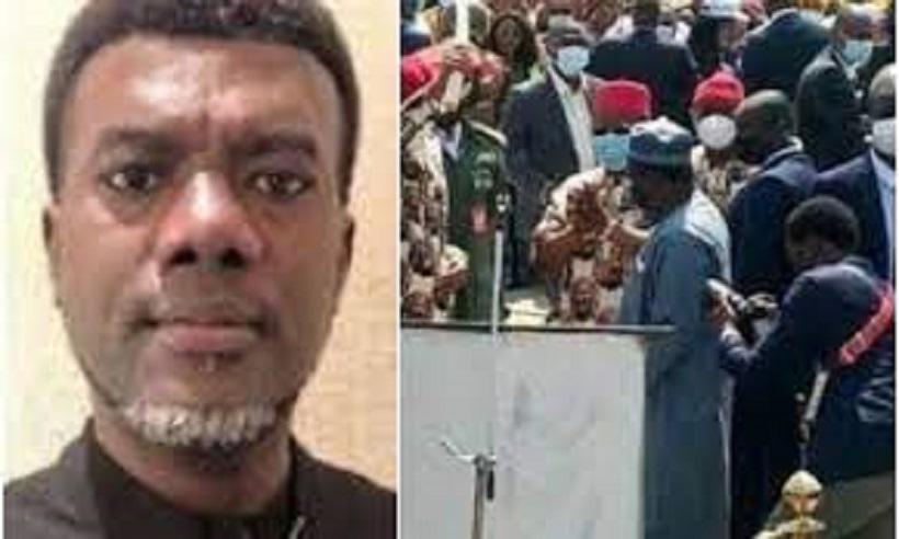 Buhari's visit: Reno Omokri high praise Imo residents, sends a mocking message to the President