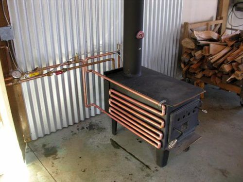Build A Woodstove Water Heating Attachment Info You