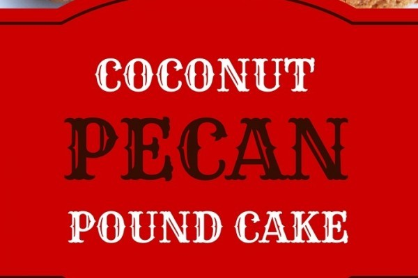Hot Caramel Pecan Pound Cake