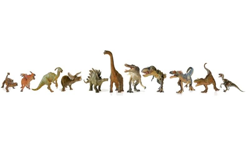 Het leven van een dinosaurus