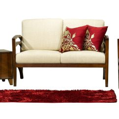 Akhtar Furniture Wooden Sofa Double Chaise Leather Exclusive And Ultra Slim In Modern Home