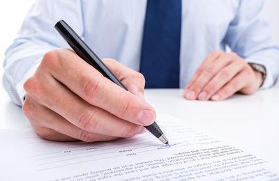 Доверенность на право подписи документов
