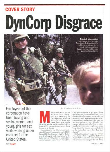 Dyncorp International  INFRAKSHUN
