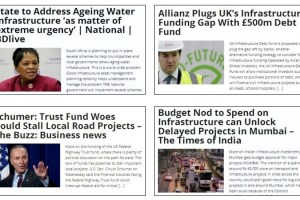 Funding Infrastructure Projects is Major Concern of Many Countries