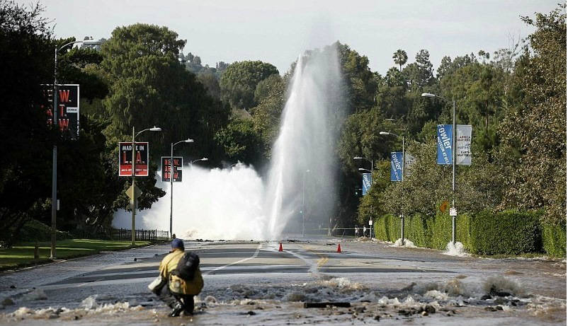 Los Angeles Water Main Break -  A Case for Infrastructure Asset Management