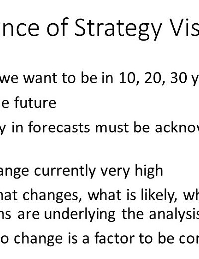 strategic asset management planning