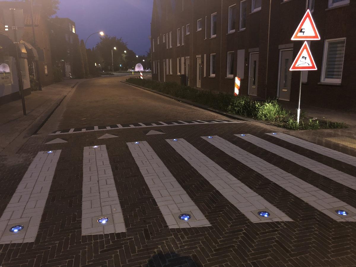 Solar LED markering