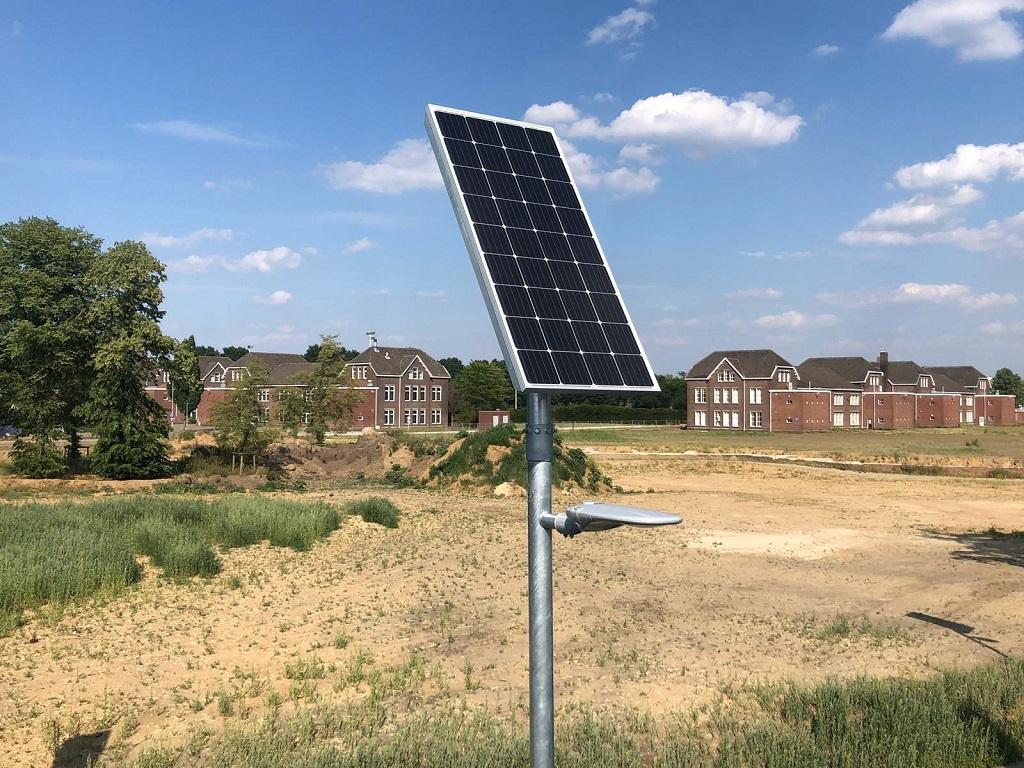 Lantaarnpaal zonne-energie
