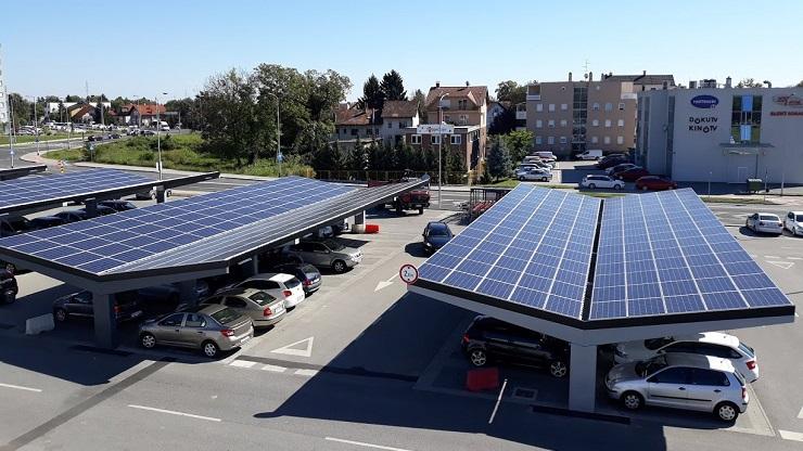 Solar parking winkelcentrum hp