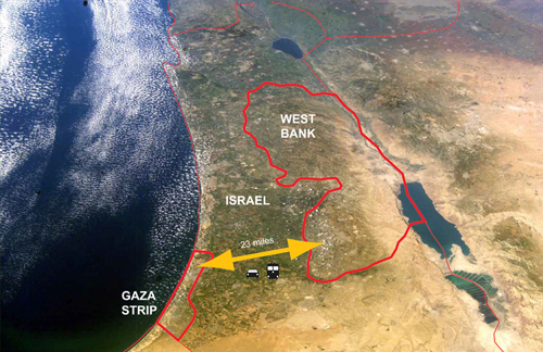 [A stable and safe Gaza - West Bank Infrastructural Link]