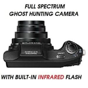 full spectrum ghost camera infrared flash