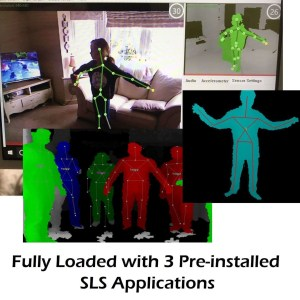 kinect portable ghost hunting sls sdk tablet