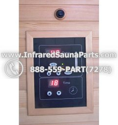 circuit board with face plate bamxsauna infrared sauna manual on off switch dual side [ 1000 x 1000 Pixel ]