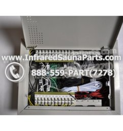 complete control power box 110v 120v 9600 watts with complete wiring harness [ 1000 x 1000 Pixel ]