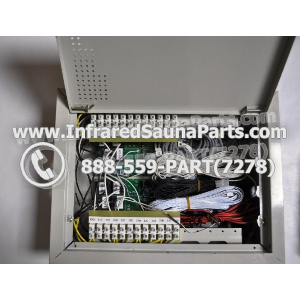 hight resolution of complete control power box 110v 120v 9600 watts with complete wiring harness