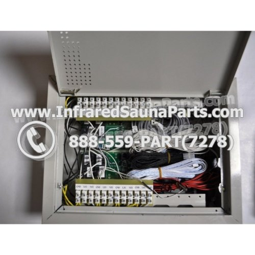 small resolution of complete control power box 110v 120v 9600 watts with complete wiring harness
