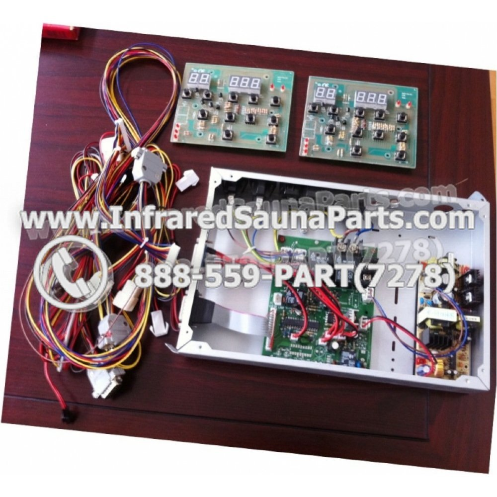 hight resolution of complete control power box josen infrared sauna 110v 120v 220v with wiring harness
