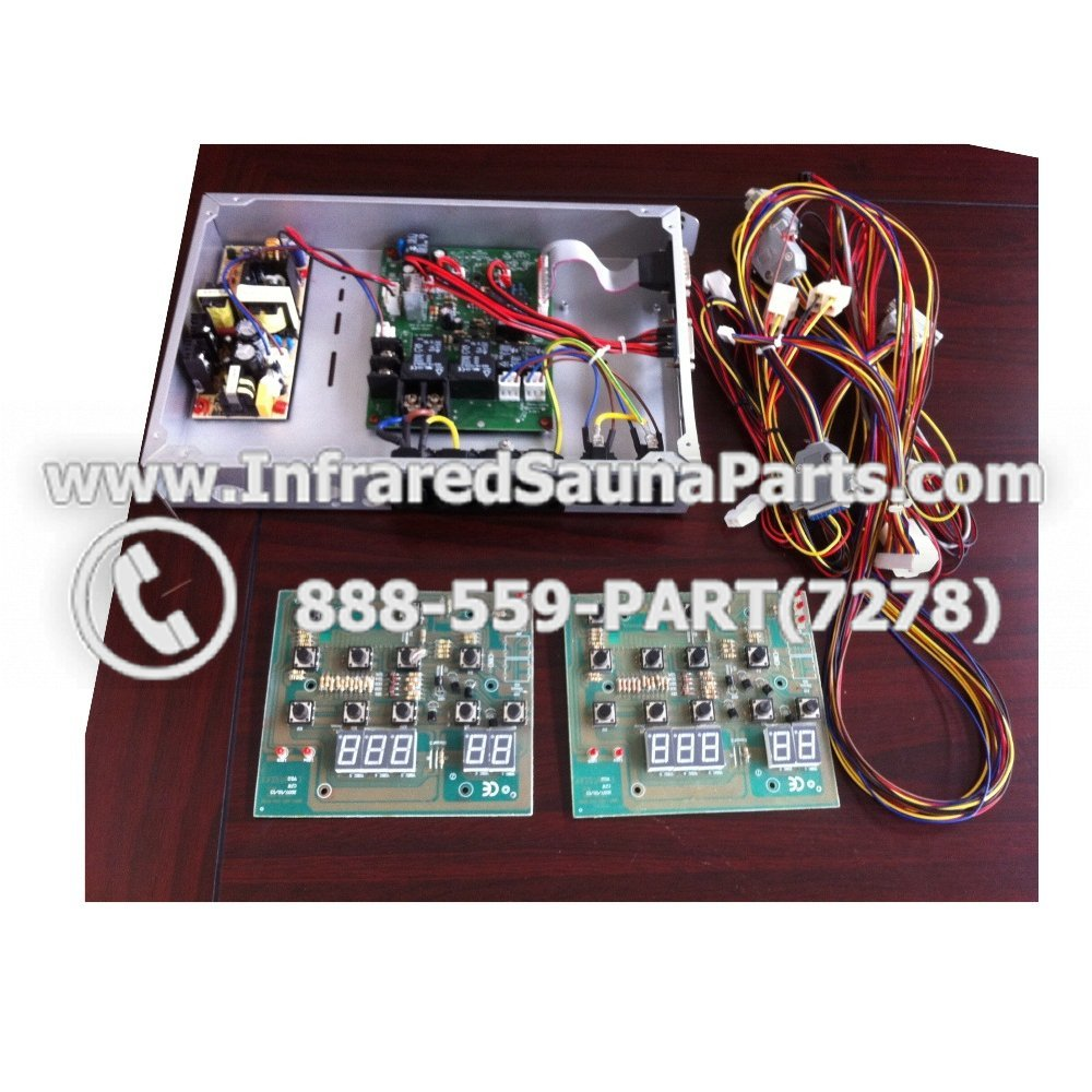 medium resolution of complete control power box josen infrared sauna 110v 120v 220v with wiring harness