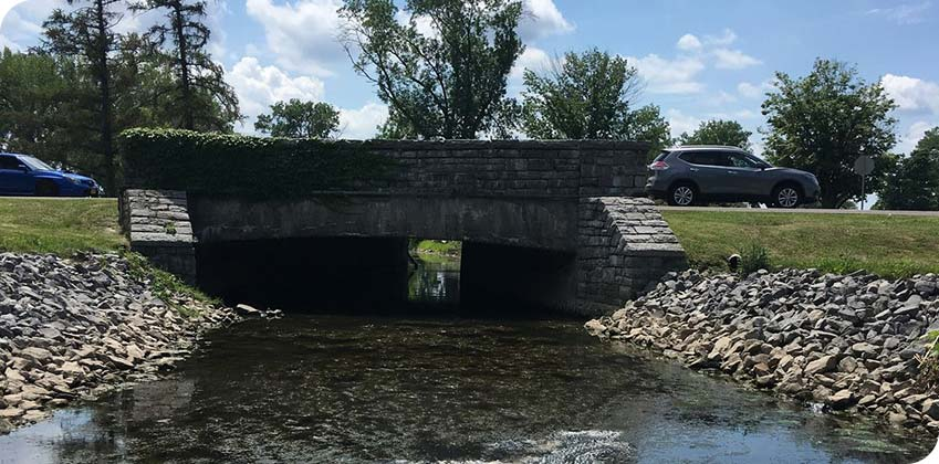 Inlet End Prior to Rehabilitation - Onondaga County, NY Bridge-Culvert Rehabilitation Project