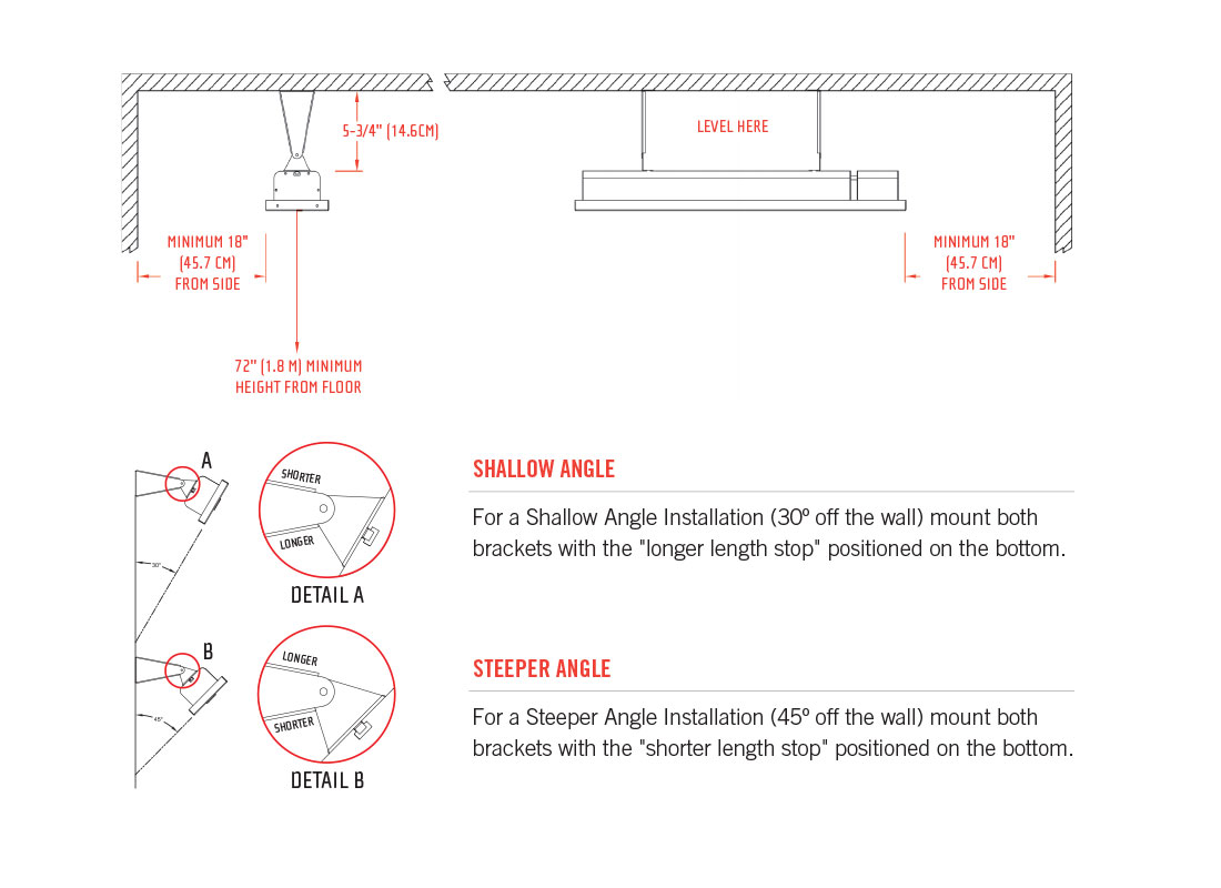 hight resolution of mounting brackets are included with all infratech heaters