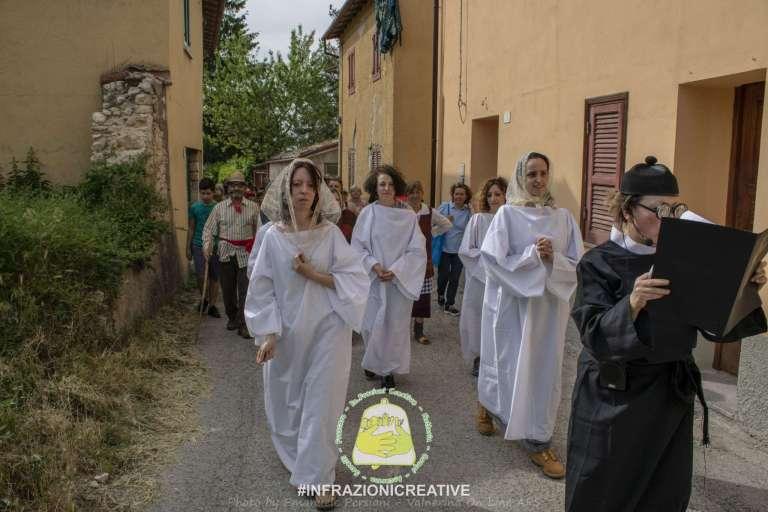 Ri-Vivendo Frascaro scena 3 – La processione