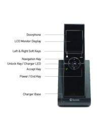 """Wireless Intercom with Doorbell & 2.4"""" Video Doorphone"""