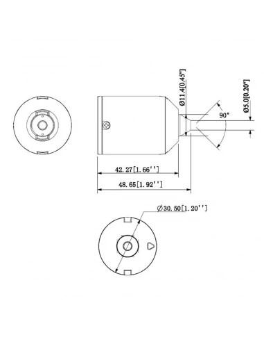 VIP Vision VSIP4MPPHC Mobile Series 4.0MP Fixed Pinhole