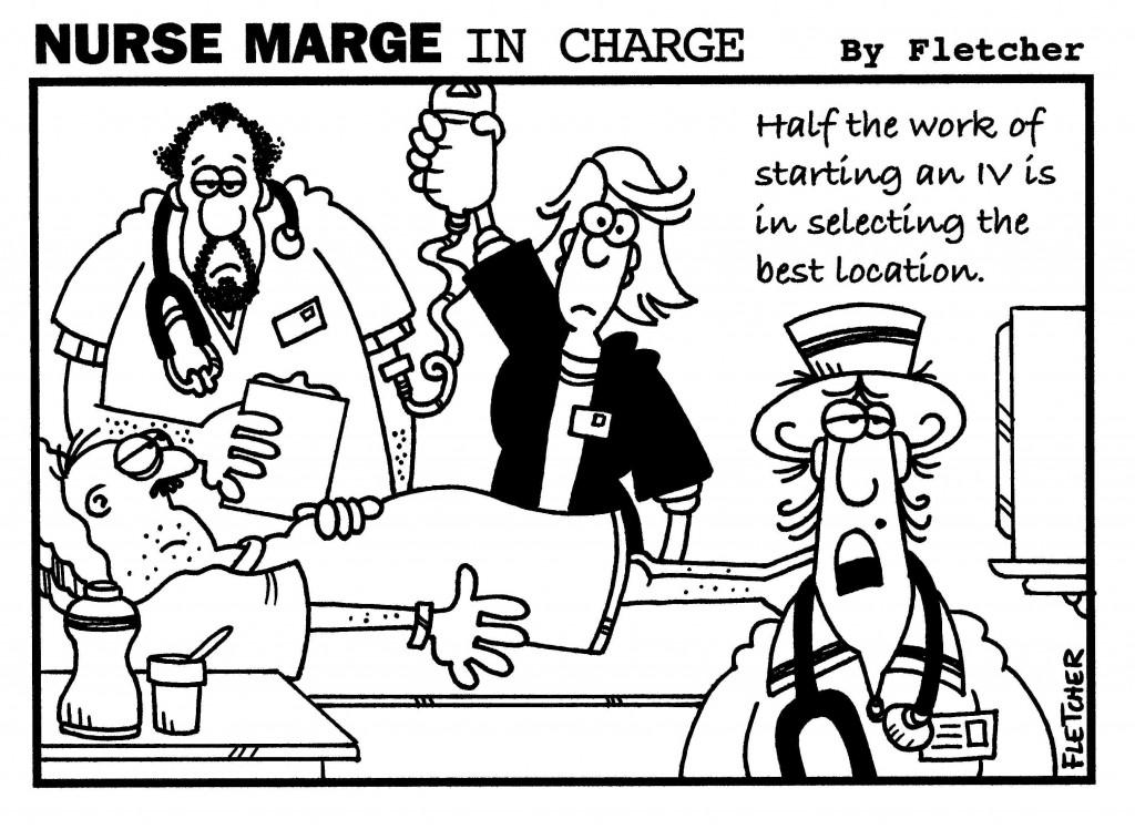 Unhappy Patient Cartoon