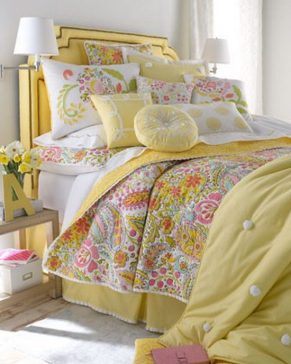 letto-shabby-giallo