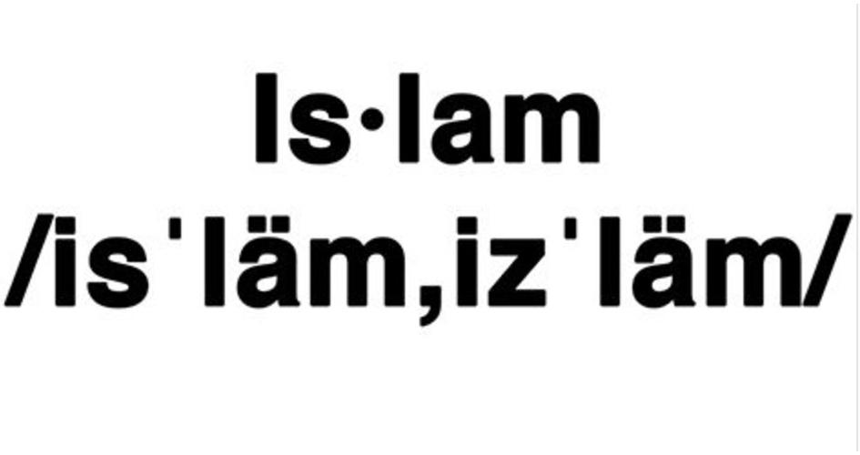 Basic Vocabulary about Muslims and Their Faith