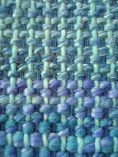rigid heddle scarf