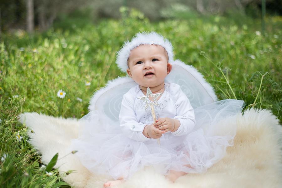 baby angel Portrait