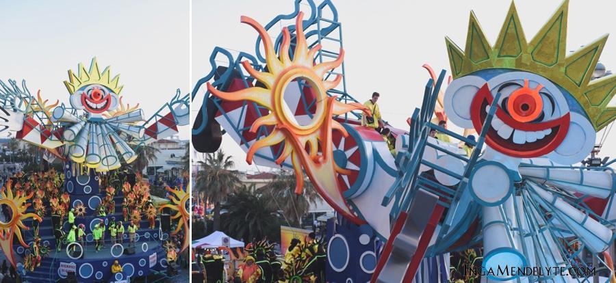 Viareggio Carnival 2015, Italy, Tuscany