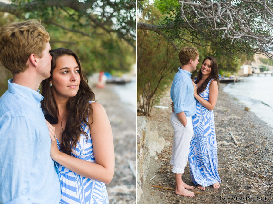 Yalikavak Beach engagement session, Bodrum