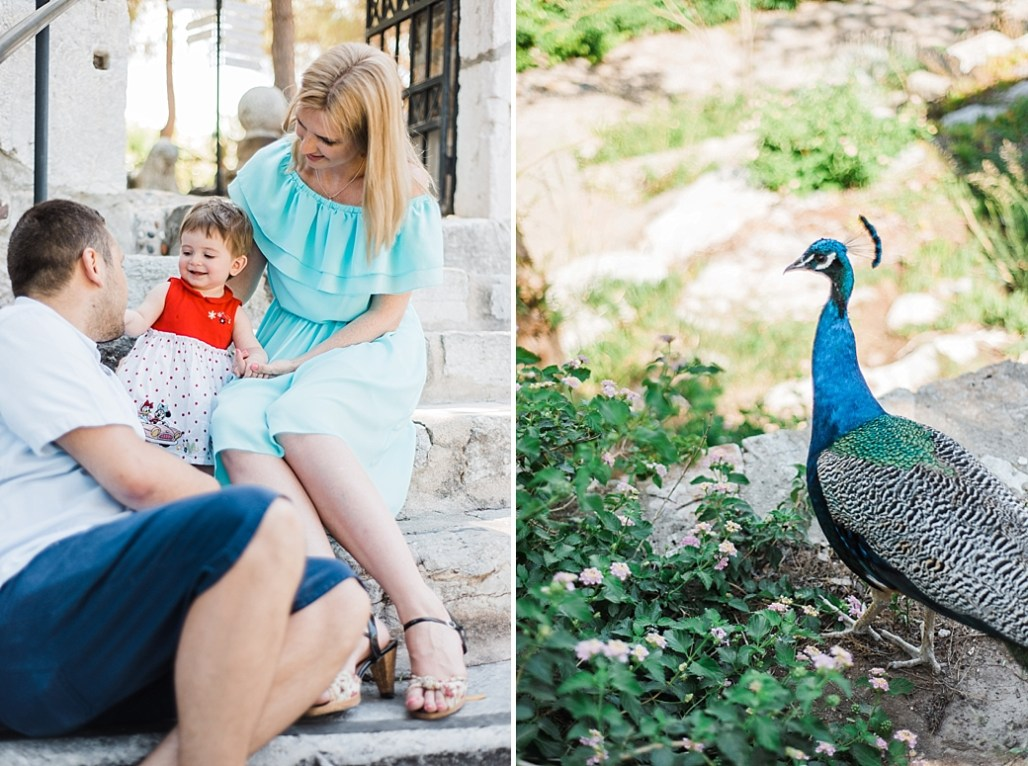 Family session in Bodrum castle