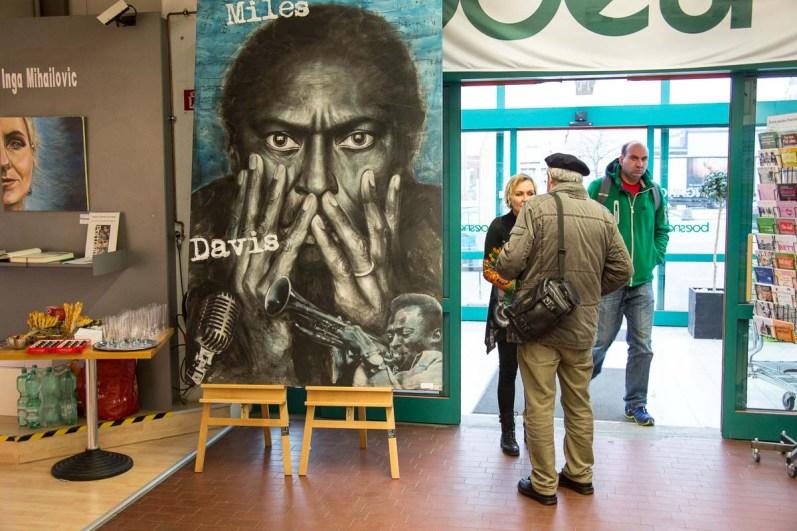 Dem Eindruck von Miles Davis konnte man schwer entgehen ;-)
