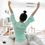 ¿Es bueno o malo dormir con aire acondicionado?