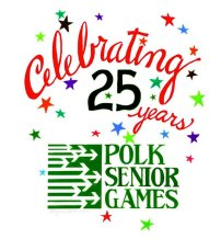 Polk Sr. Games logo 2017