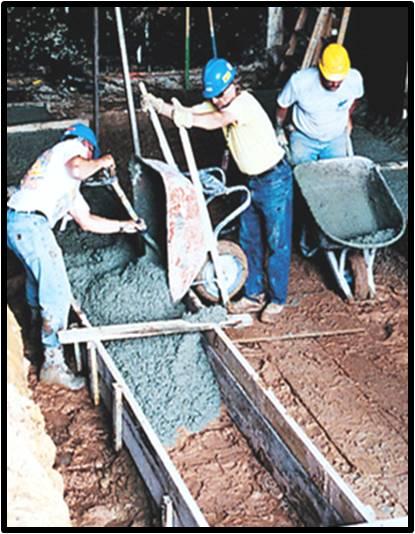 colocacion del concreto