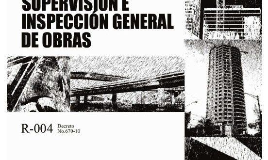 Reglamento para la Supervision e Inspeccion de Obras