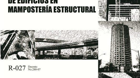 Reglamento para Diseño y Construcción de Edificios en Mampostería Estructural