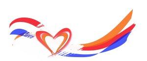 hart met nederlandse vlag koningsdag